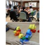 圖說:2018台灣員工協助專業協會論壇「六色積木職場健康促進工作坊」。/圖韓佩凌助理教授提供